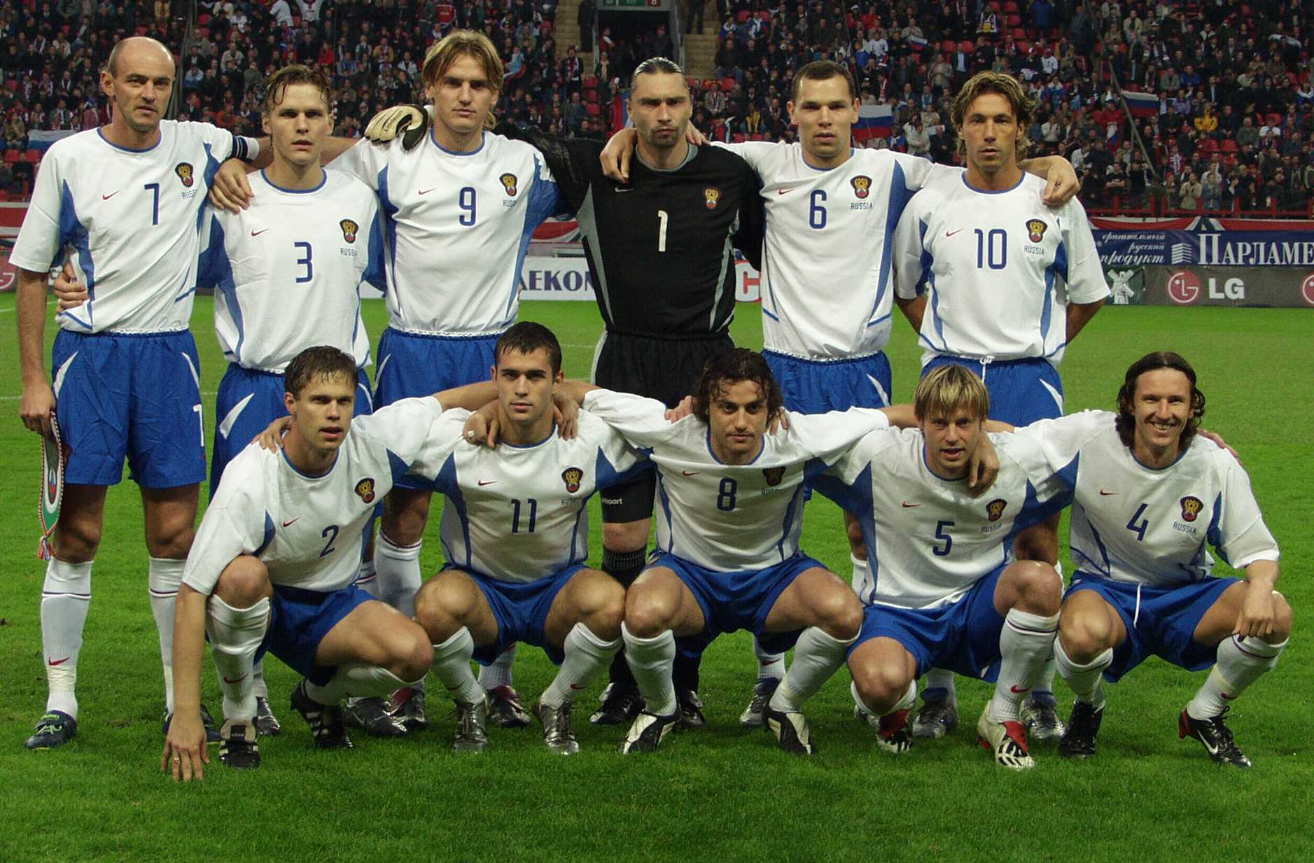 чемпионат мира 2004 по футболу сборной россии